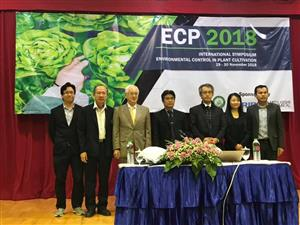 INTERNATIONAL SYMPOSIUM ENVIRONMENTAL CONTROL IN CULTIVATION  ECP 2018