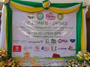 THE 2nd MAEJO - ENGINEO INTERNATIONAL CONFERENCE ON RENEWABLE ENERGY